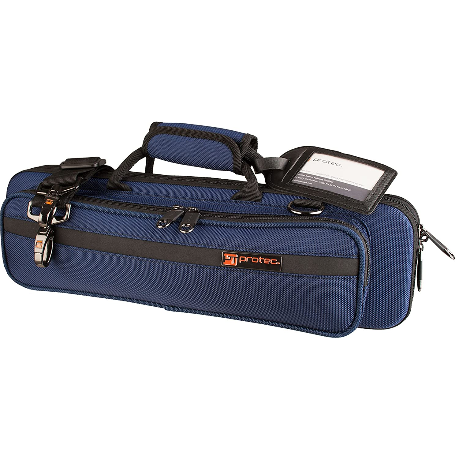 Protec Flute (B and C Foot) Slimline PRO PAC Case, Purple PB308PR
