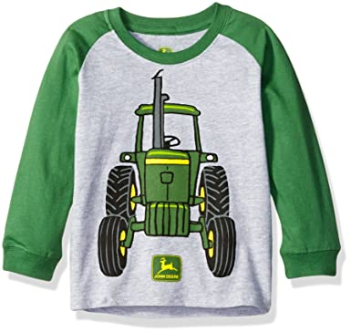 4edbc2c6260 Amazon.com  John Deere Boys  Toddler Big Tractor Tee  Clothing