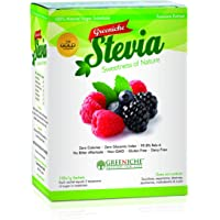 100% Natural Stevia Extract | 100 Sachets | Powdered Sweetener and Food Additive | A Completely Safe, All-Natural Sweetener Extracted from the Herb Stevia Rebaudiana | Weight Loss and Diet Aid | Sugar Replacement | No Bitter Aftertaste