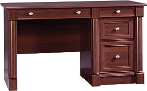 "Sauder 412116 Palladia Computer Desk, L: 53.15"" x W: 23.47"" x H; 30.04"", Select Cherry finish"
