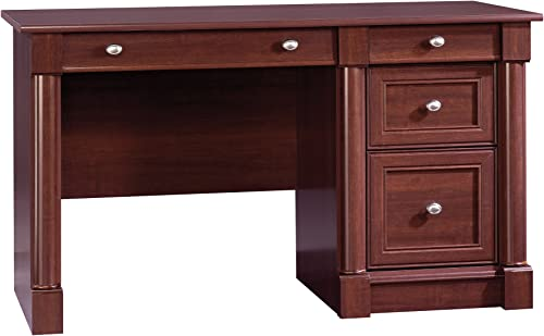 Sauder Palladia Computer Desk, Select Cherry finish