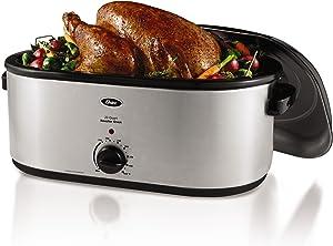 Oster Roaster Oven, 22 Quart, Stainless Steel (CKSTRS23)