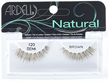 d2731c3e691 Amazon.com : Ardell Fashion Lashes Pair - 120 Demi, Brown (Pack of 4) : Fake  Eyelashes And Adhesives : Beauty