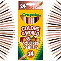 Crayola Colors of The World Pencils, representing people of the world, Skin tone Coloured Pencils, School Supplies…