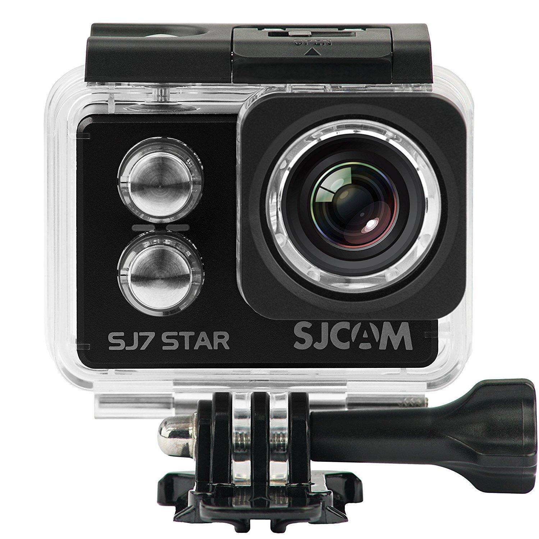 SJCAM SJ7 STAR 4K 12MP 2'' Touch Screen Metal Body Gyro Waterproof Sports Action Camera BLACK by SJCAM (Image #1)