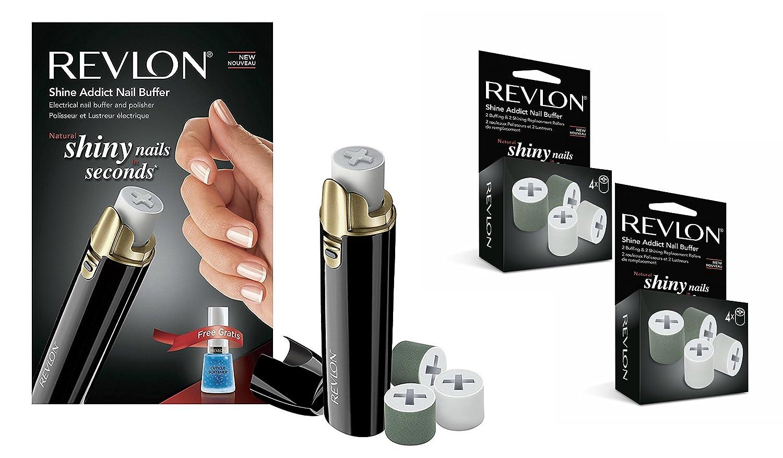 Revlon Shine Addict Nail Buffer: Amazon.co.uk: Health & Personal Care