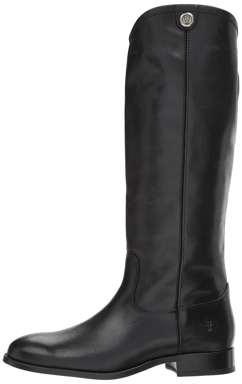 FRYE Women's Melissa Button 2 Extended Calf Riding Boot B06VSJVWYN 7 B(M) US|Black Extended Calf