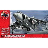 Airfix - Kit de modelismo, avión Sea Harrier FA2, 1:72 (Hornby A04052)