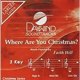 Where Are You Christmas? [Accompaniment/Performance Track]