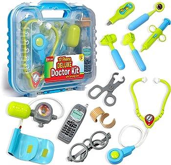 Kidzlane Electronic Stethoscope Doctor Kit Toys
