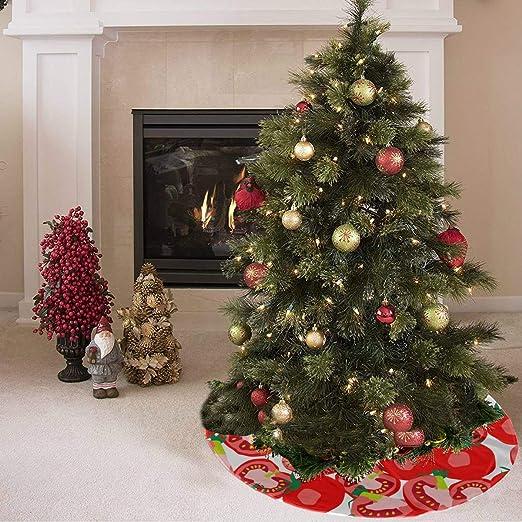 Falda de árbol de Navidad Faldas de árbol de verduras de moda ...