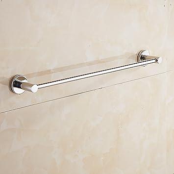 Aothpher  SUS 304 Edelstahl Handtuchhalter, Verchromt, 50cm, Wandmontiertes Badezimmer  Handtuchhalter U0026