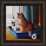 Norman Catwell Lucia Heffernan Cat Art Print Poster 16x20