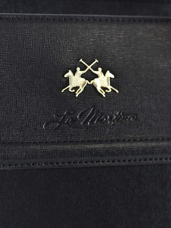 La Martina 41W059 O0001 Shopper Accessori Nero