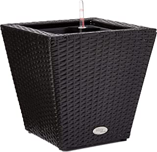 product image for DMC Products 78378 14-Inch Vista Square Resin Wicker Planter