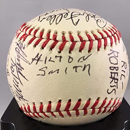 9c92ae3cada Image Unavailable. Image not available for. Color  Hilton Smith Monte Irvin Negro  League Multi Signed Baseball 22 Autograph COA - JSA Certified -