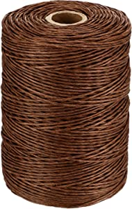 Floral Wire Vine Wire Bind Wire Rustic Wire Wrapping Wire for Flower Bouquets (Brown, 673 Feet)