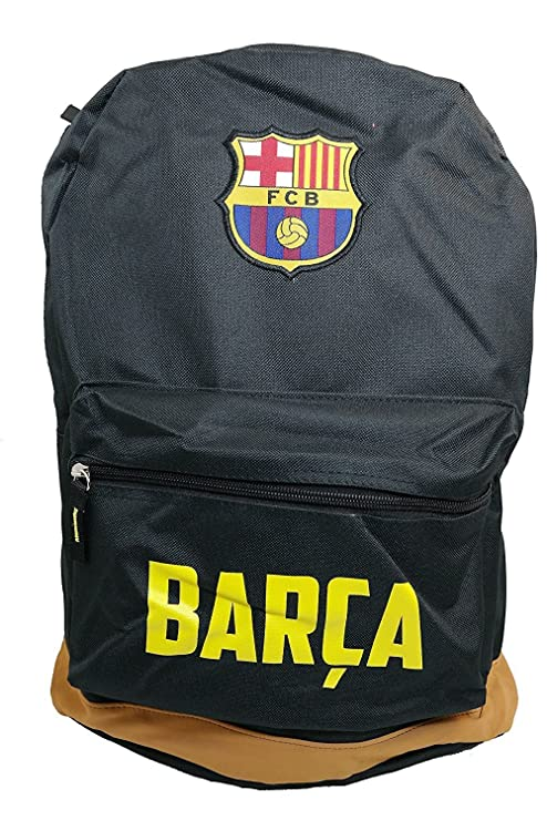 Amazon.com   FC Barcelona Official Team Licensed Logo Backpack Messi 10 -  001   Sports Fan Backpacks   Sports   Outdoors ec1a6413d3ba8