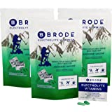 Brode Electrolyte Vitamin - Portable Zero-Sugar Electrolyte Tablets - for Sports, Hangovers, Jet Lag, 5 Essential…