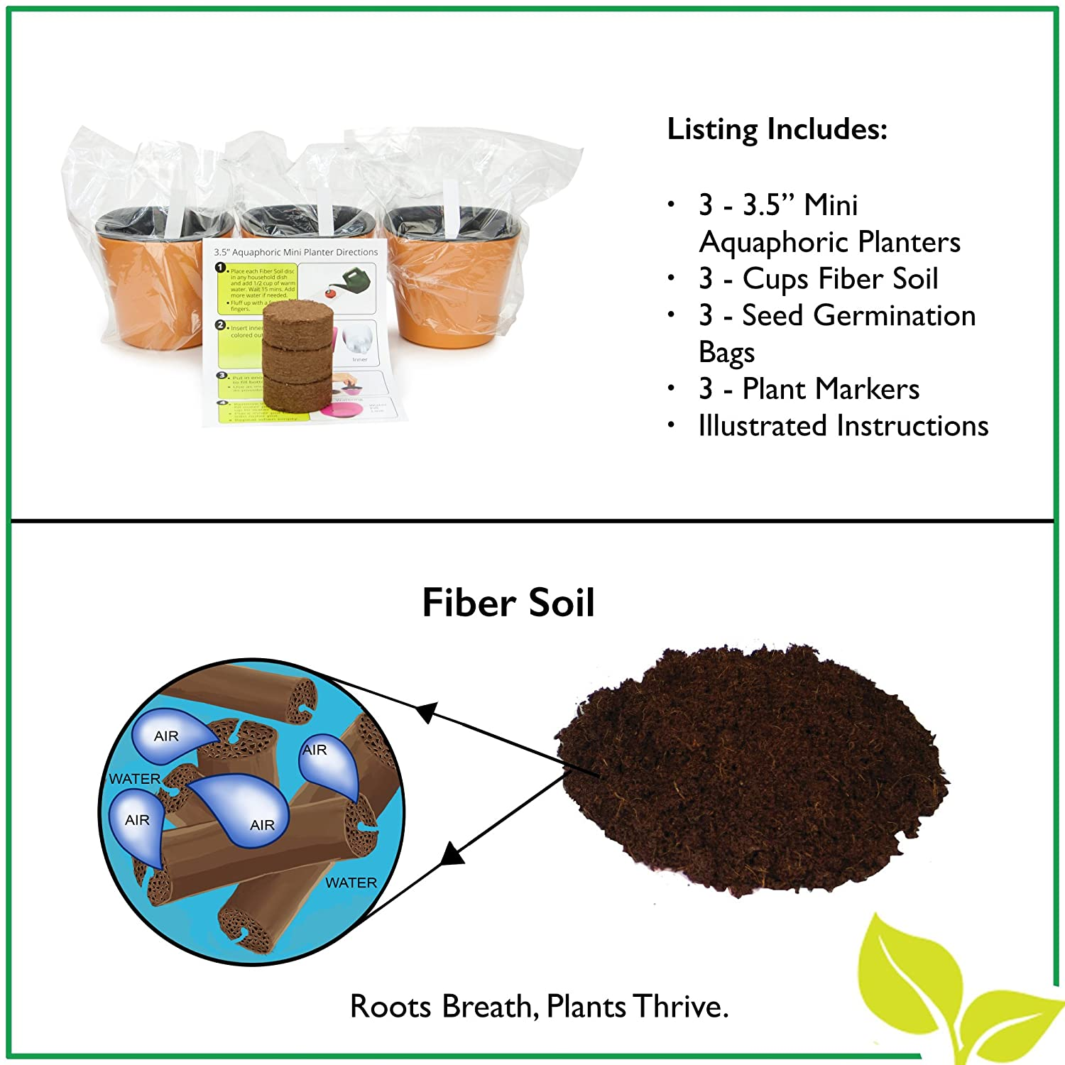 Cole planters prices - Amazon Com Self Watering Mini 3 5 Planter Pots 3 Pack Ivory Grow A Indoor Window Sill Garden Perfect For Potting Smaller House Plants Herbs