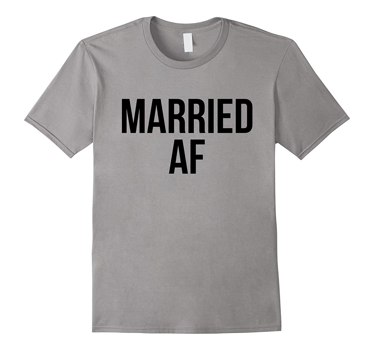 MARRIED AF Honeymoon Tee Bride Tshirt Bridal Groom Shirt-Vaci