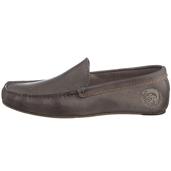 Diesel Onestyle Run, Mocassins homme - Dark cuir Gull Gray, 44 EU:  Amazon.fr: Chaussures et Sacs
