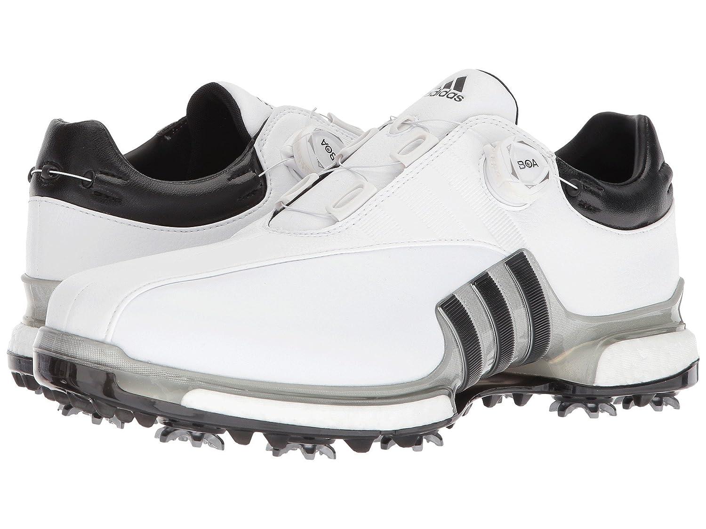 [アディダス] メンズゴルフシューズ靴 Tour360 EQT Boa [並行輸入品] 28.0 cm Footwear White/Silver Metallic/Core Black B07L6X481M