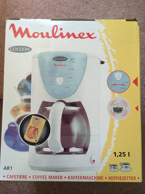 Moulinex ar1.4s filtro cafetera eléctrica: Amazon.es: Hogar