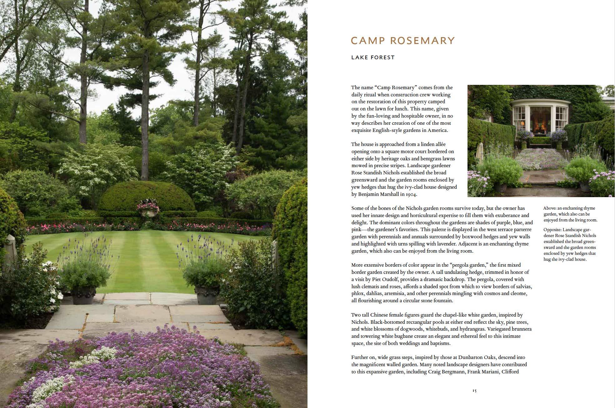 Gardens Of The North Shore Of Chicago Lenhardt Jr Benjamin F Shigley Scott 9781580935319 Amazon Com Books