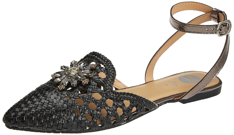 Gioseppo 45346, Zapatillas para Mujer 37 EU|Negro (Black)