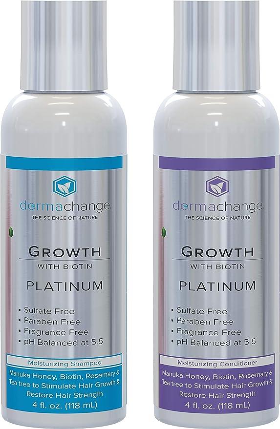 5 opinioni per dermachange Shampoo e Balsamo con olio di Argan biologico e Biotina