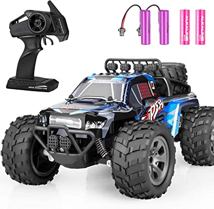 Amazon Com Remote Control Car Zipoute Rc Car 2 4ghz High Speed Fast Rc Racing Car Toys Off Road Radio Control Cars For Boys Remote Control Monster Trucks Rc Rock Crawler Toy Gifts Kids