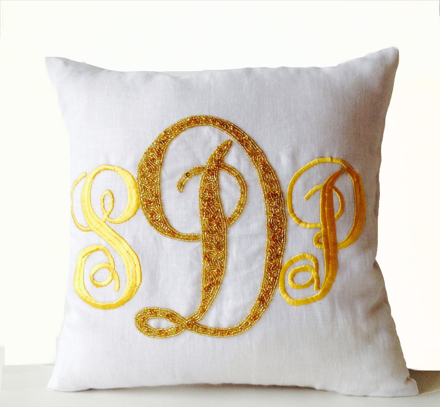 store stick monogram red pillow cover studio by pillows pony custom