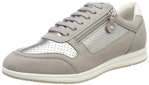 Geox D Myria Pour Femme Chaussures, Gris (lt Gris), 36 Eu