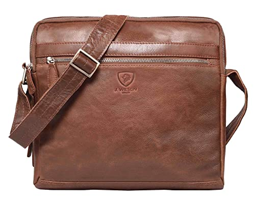 abba673b1234 100% Pure Genuine Real Vintage Vegetable Tanned Leather Handmade Mens Womens  Leather Flapover Everyday Cross Body Shoulder Work iPad Messenger Bag  ...
