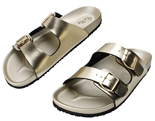 338ce98bc Image Unavailable. Image not available for. Color  PepStep Buckle Strap  Sandals for Women Super ...