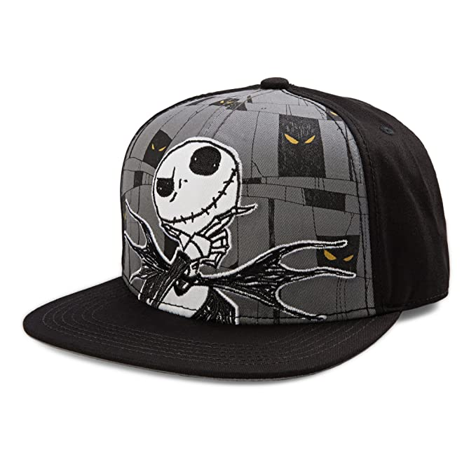 988ba815 Disney's The Night Before Christmas Jack Skellington Hand Pose Snapback Cap:  Amazon.ca: Clothing & Accessories