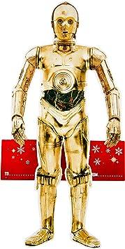 Medium Hallmark Star Wars Christmas Card C3 PO Shelfie