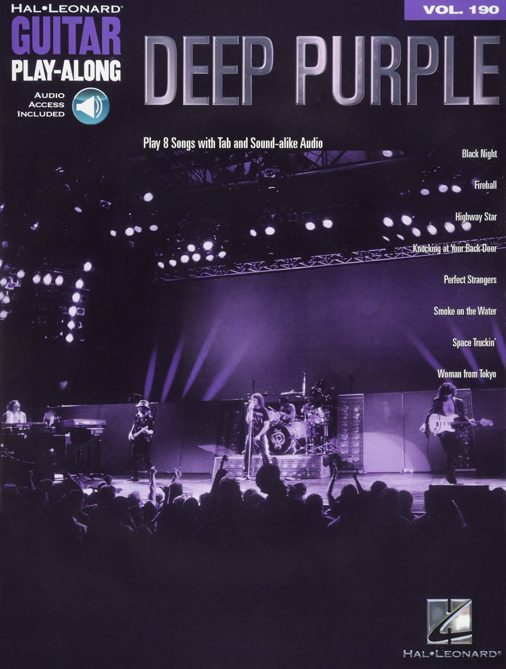 Deep Purple Guitar Play Along Volume 20 [With Access Code] Hal ...