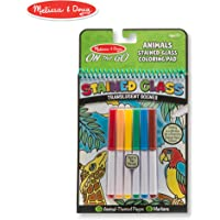 Melissa & Doug On The Go Stained Glass Coloring Pad - Animals