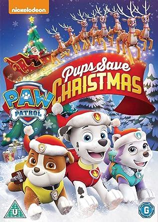Save Christmas.Paw Patrol Pups Save Christmas Dvd Amazon Co Uk Dvd