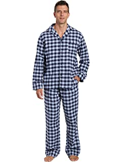 f2a7032a8e42 Noble Mount Box Packaged Mens Premium 100% Cotton Flannel Pajama Set