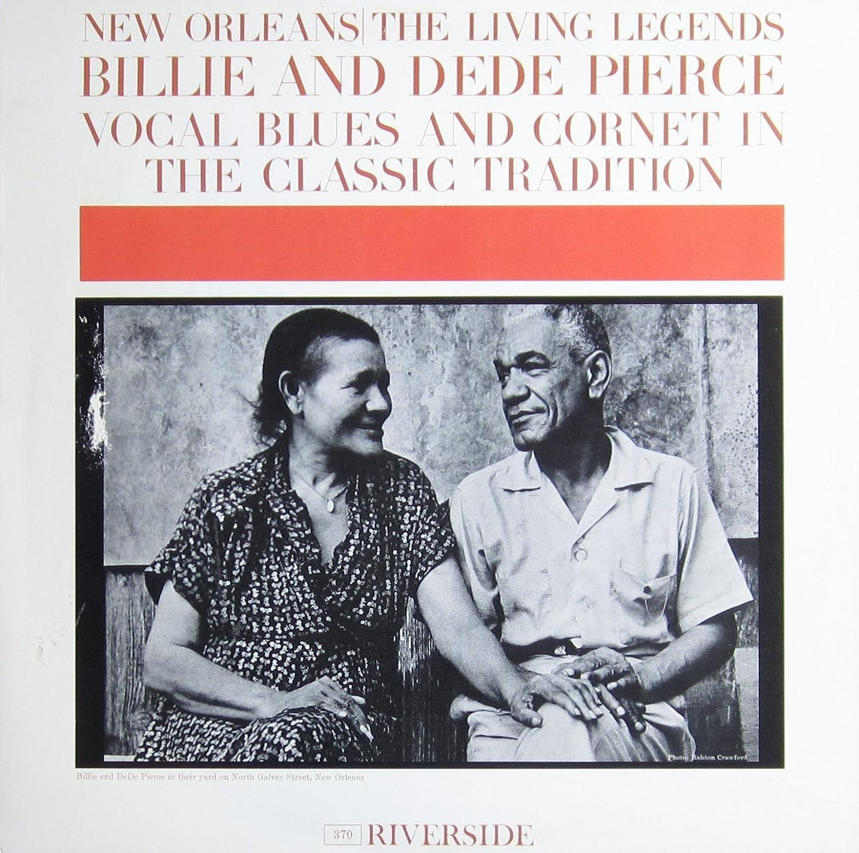 Billie & De De Pierce - New Orleans: The Living Legends [Vinyl] -  Amazon.com Music