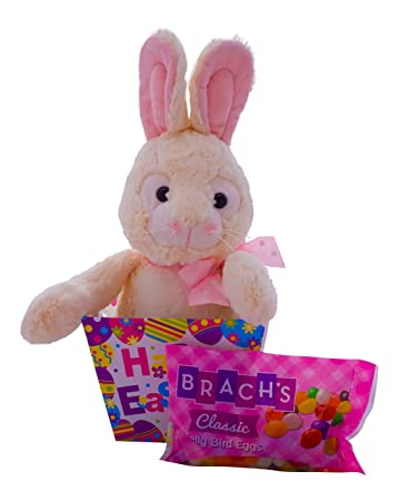 Amazon giant easter bunny plush easter basket with jelly beans giant easter bunny plush easter basket with jelly beans makes a great springtime gift for negle Image collections