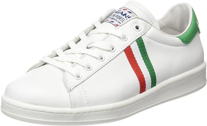 El Ganso Low Top Blanca Bandera Italia - Zapatilla Baja Unisex ...