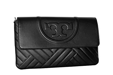 9198580a681 Amazon.com  Tory Burch Alexa Clutch Leather Women s Handbag 54450 ...