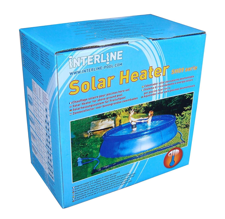 Calefacción solar pool 3, 46 M X 0, 36 m Piscina de Natación Hornear Pool Calefacción 8006: Amazon.es: Jardín