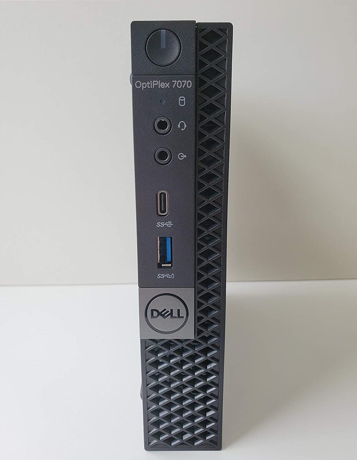 Dell Optiplex 7070 Micro (MFF) PC Intel Core i7-9700 3.0GHZ 8GB 2666MHZ RAM 256GB M.2 PCIe SSD AC WiFi Windows 10 Pro (Renewed)