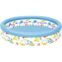 """Bestway 51009-17 48""""x10"""" Ocean Life Above Ground Pool-Multicoloured, 40 x 10 Inch, Assorted Colours"""