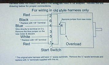 amazon.com: wp279827 dryer motor for whirlpool roper kenmore ... roper dryer motor wiring diagram  amazon.com
